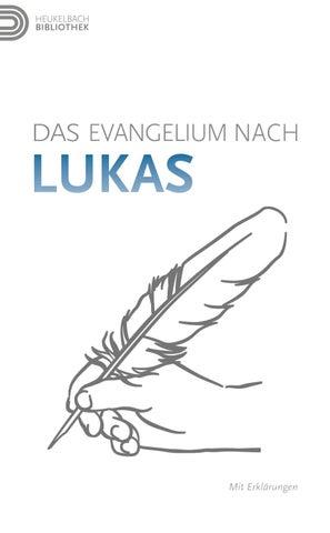 Das Evangelium Nach Lukas By Stiftung Heukelbach Issuu