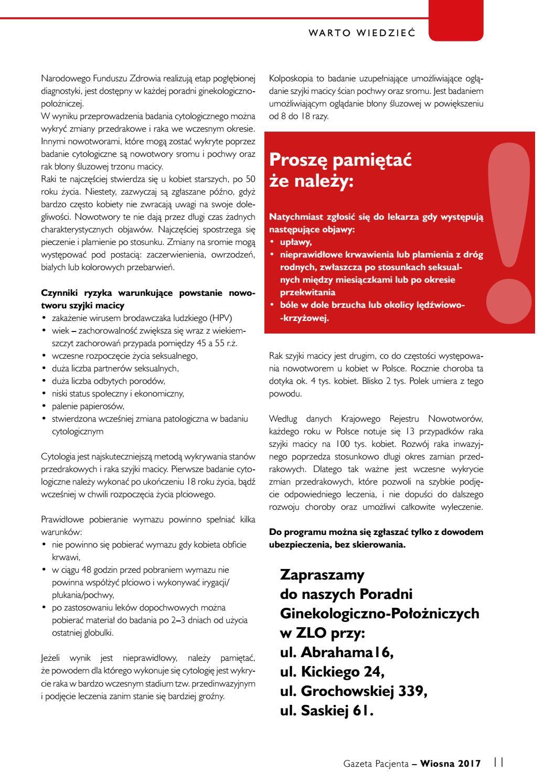 3656a37077cb09 Gazeta Pacjenta nr 1 rok 2017 by ZLO Praga - issuu