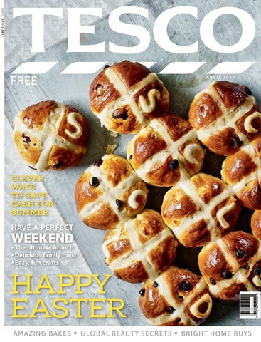 Tesco magazine april 2017 by tesco magazine issuu page 1 negle Gallery
