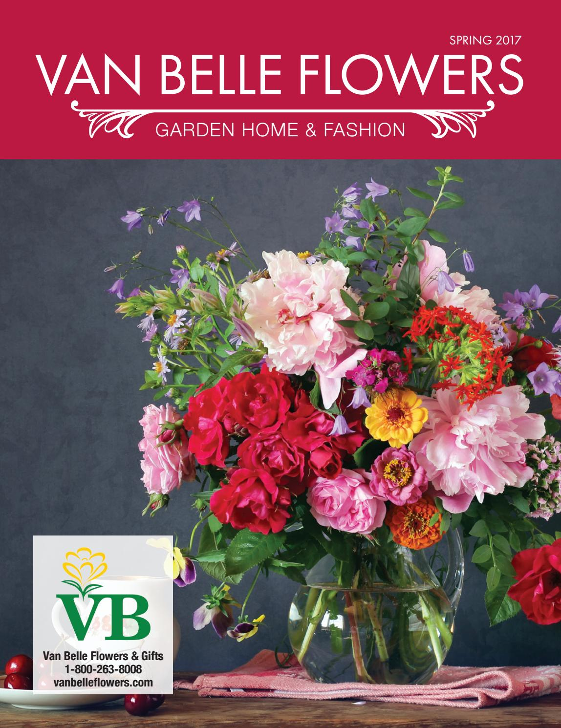 Van belle flowers spring 2017 by country road graphics inc issuu izmirmasajfo
