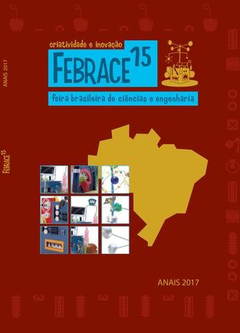 b2c874182d5 Anais FEBRACE 2017 by FEBRACE - Feira Brasileira de Ciências e ...