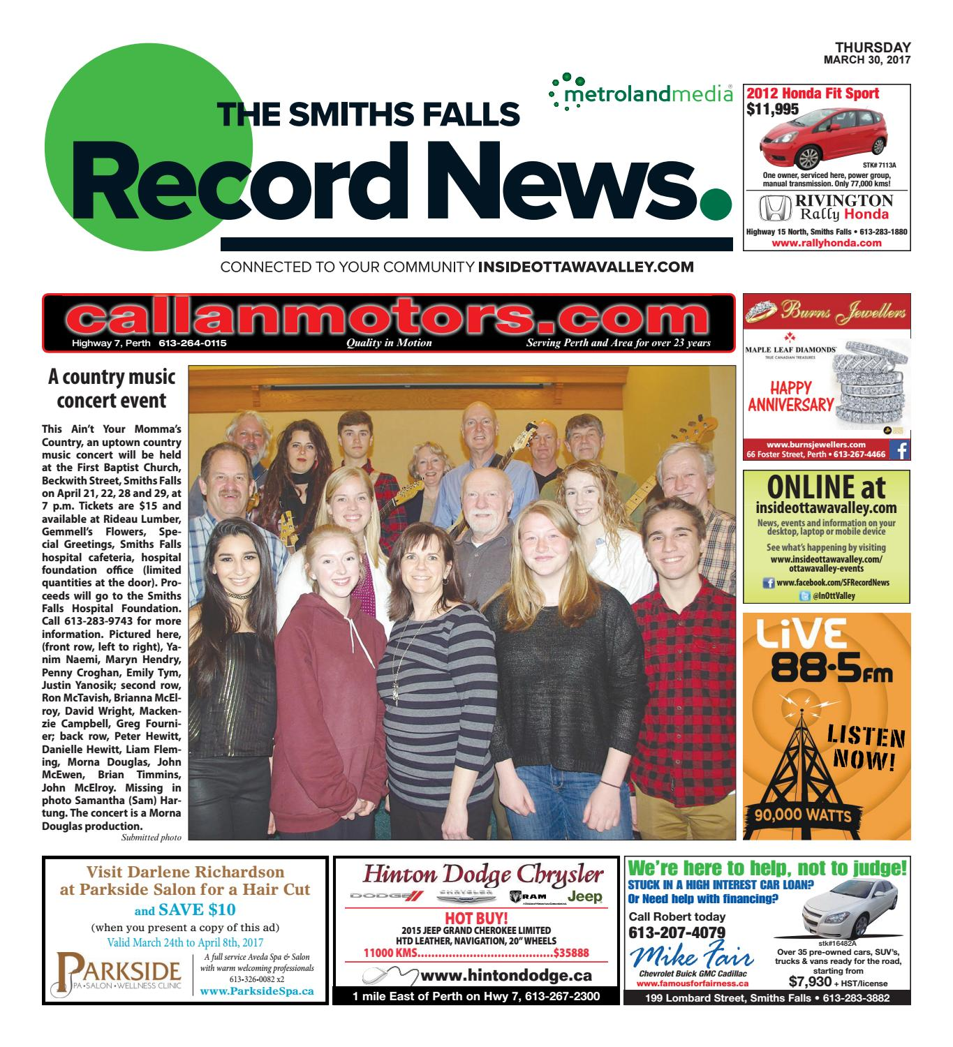 Smithsfalls033017 by Metroland East - Smiths Falls Record News - issuu 7c3f66e68