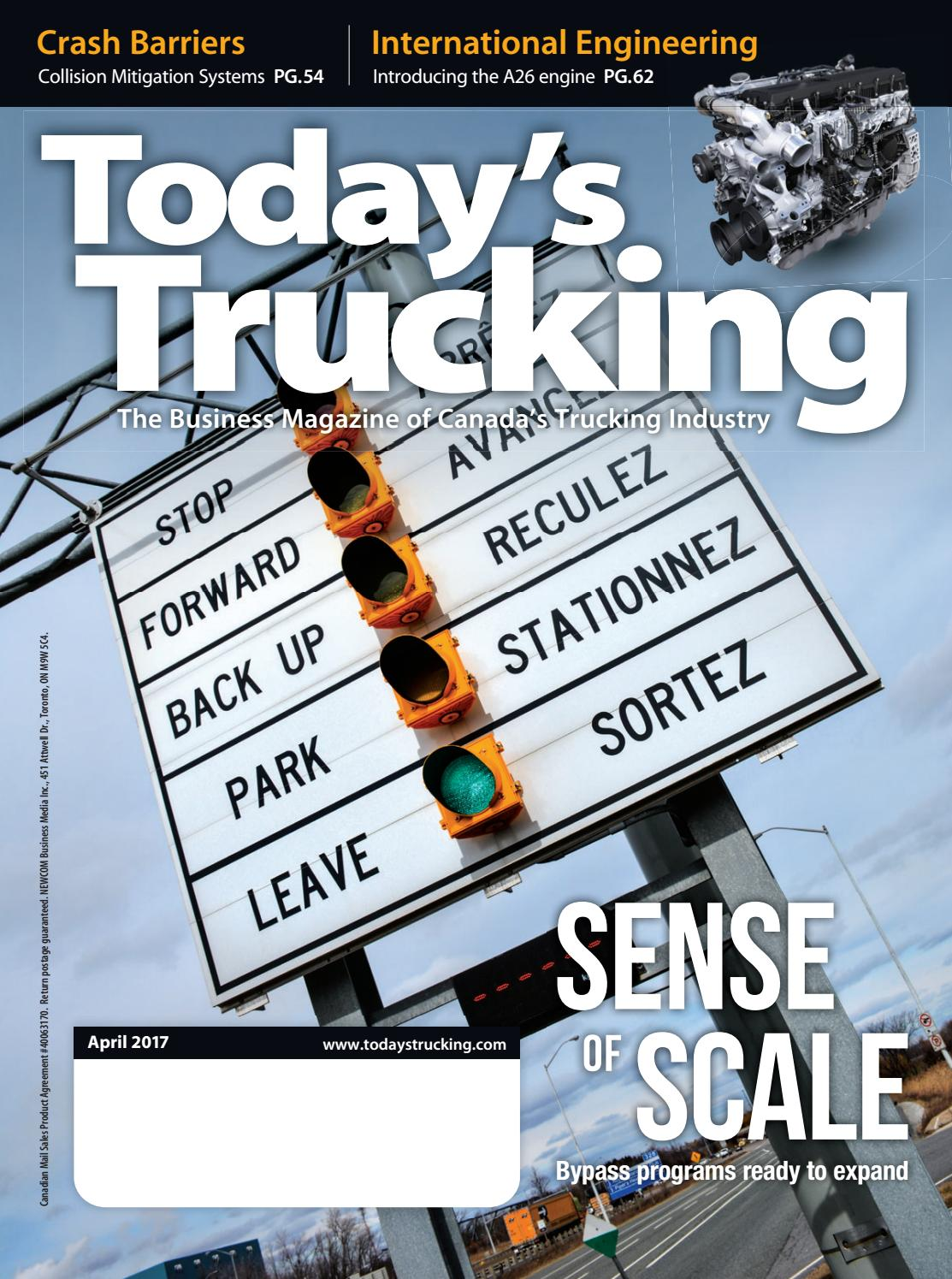 Today's Trucking April 2017 by Annex Business Media - issuu