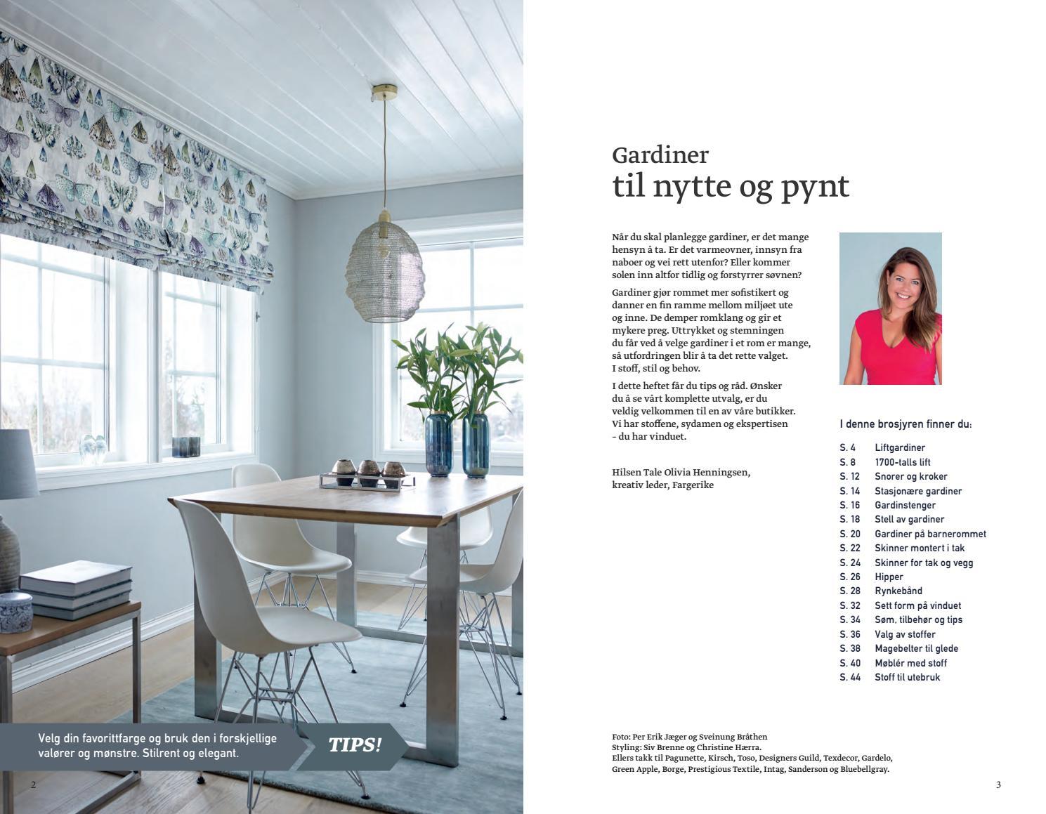 Alle nye Gardin fargerike no by Fargerike Norge - issuu XJ-34