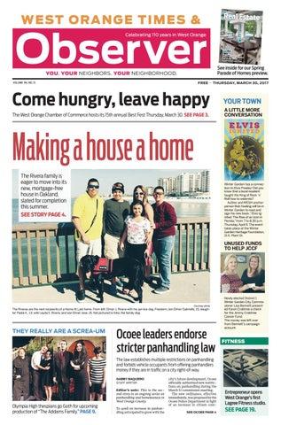 03 30 17 West Orange Times & Observer by Orange Observer - issuu