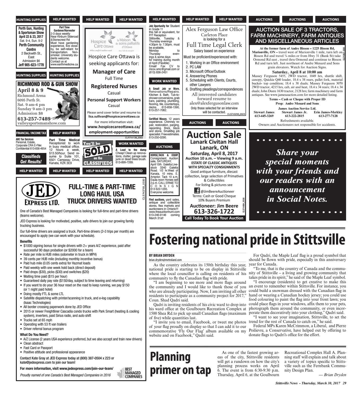 Stittsville033017 by Metroland East - Stittsville News - issuu