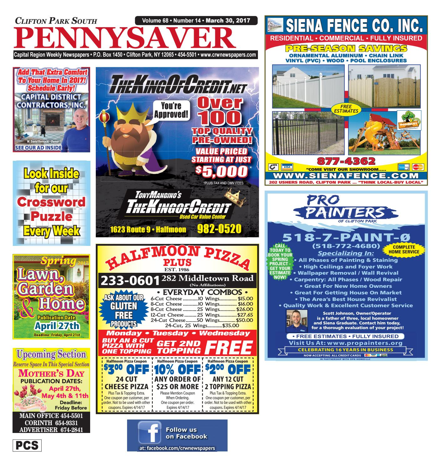 Clifton Park South Pennysaver 033017 by Capital Region
