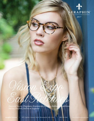 4e6cfa352d6 Seraphin 2017 Vision Expo East Releases by Ogi Eyewear - issuu