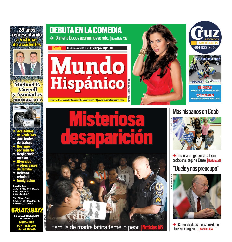 Misteriosa desaparición by MUNDO HISPANICO - issuu