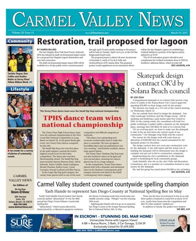 ef92e0ed535 Carmel valley news 03 30 17 by MainStreet Media - issuu
