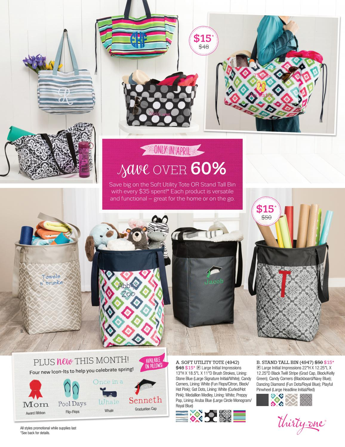 Thirty One Gifts April 2017 Customer Special By Kristinmoses Issuu