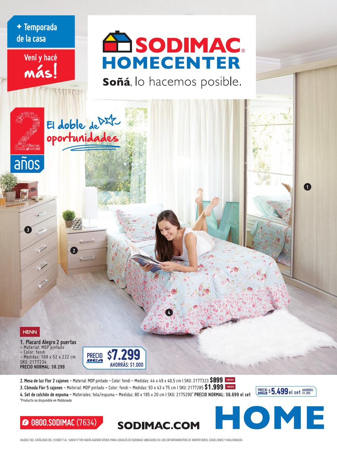 Cat Logo Sodimac Homecenter Abril 2017 By Sodimac Issuu # Muebles Xp Instalaciones