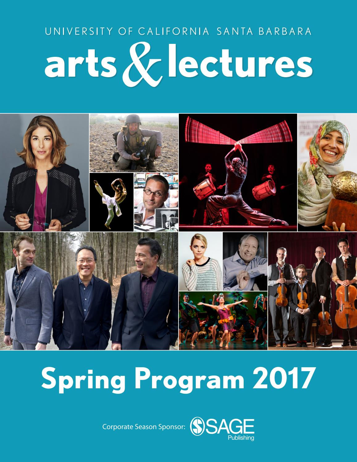 Ina Mae Spivey Delightful ucsb arts & lectures - spring program 2017ucsb arts & lectures