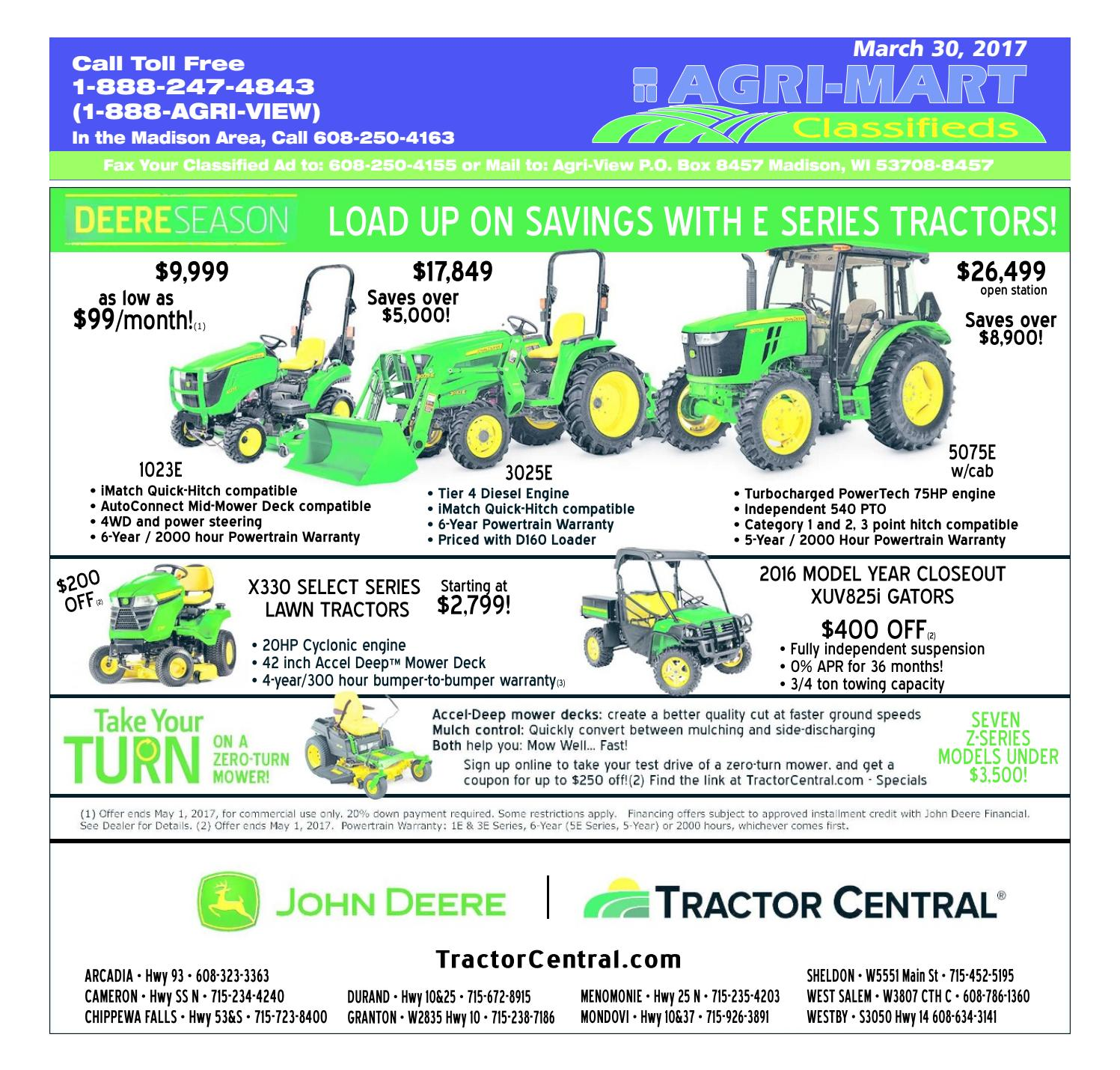 March 30, 2017 Agri-Mart by Madison.com - issuu