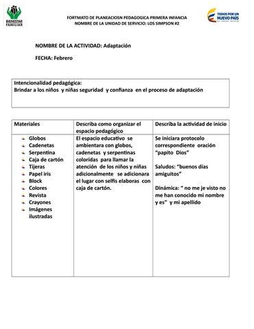 Cuaderno pedagogico guarderia by leidy viviana - issuu