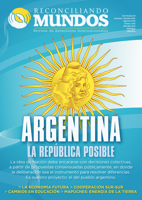 Reconciliando Mundos #28 ARGENTINA by Reconciliando Mundos - issuu