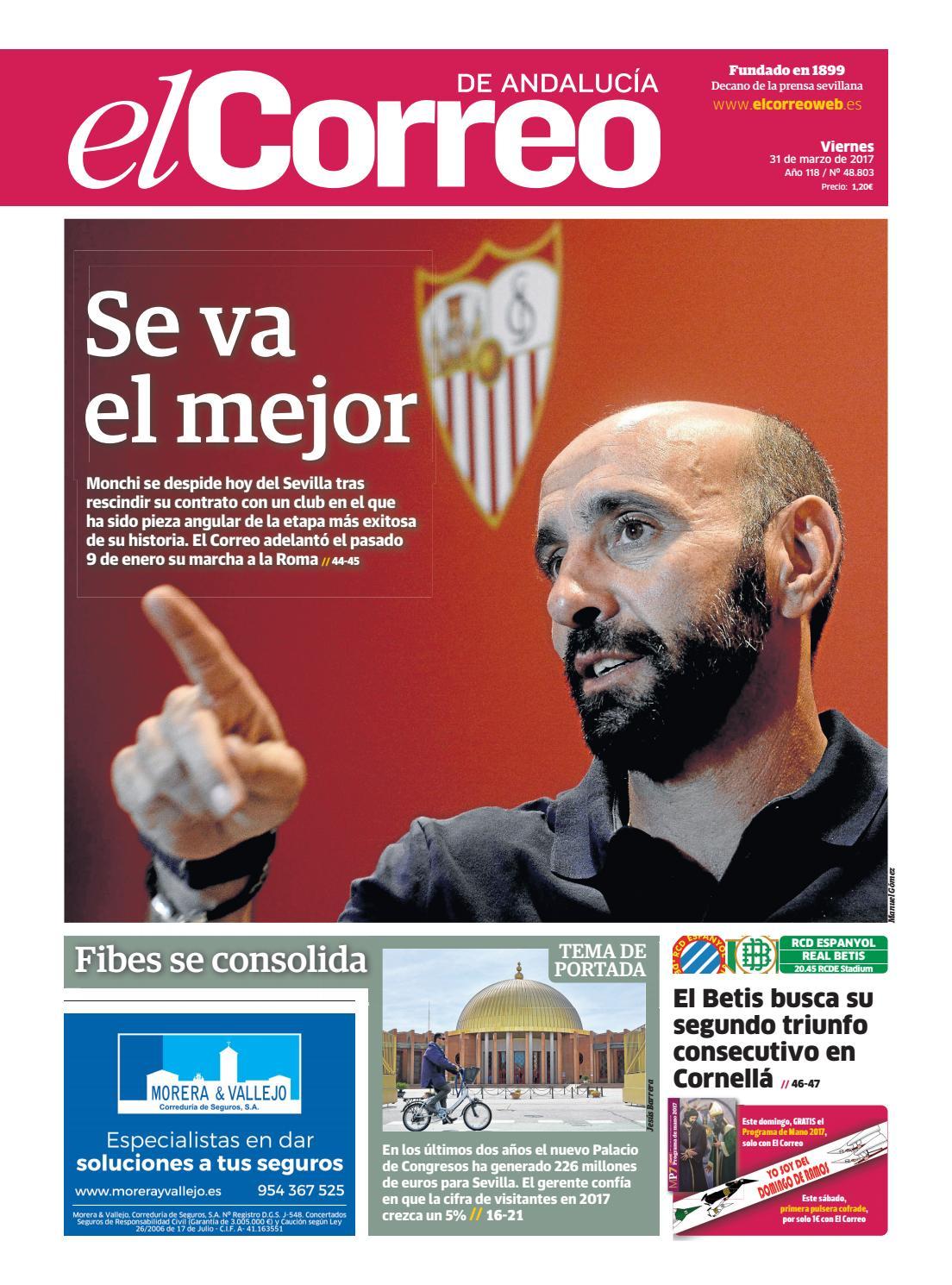 31 03 2017 El Correo de Andalucía by EL CORREO DE ANDALUCÍA ...