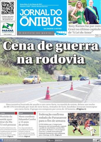 Editora Jornal do Ônibus - Edição do dia 31-03-2017 by Editora ... 916cd42d7815f