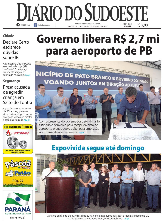 519c8f030efbc Diário do sudoeste 31 de março de 2017 ed 6858 by Diário do Sudoeste - issuu
