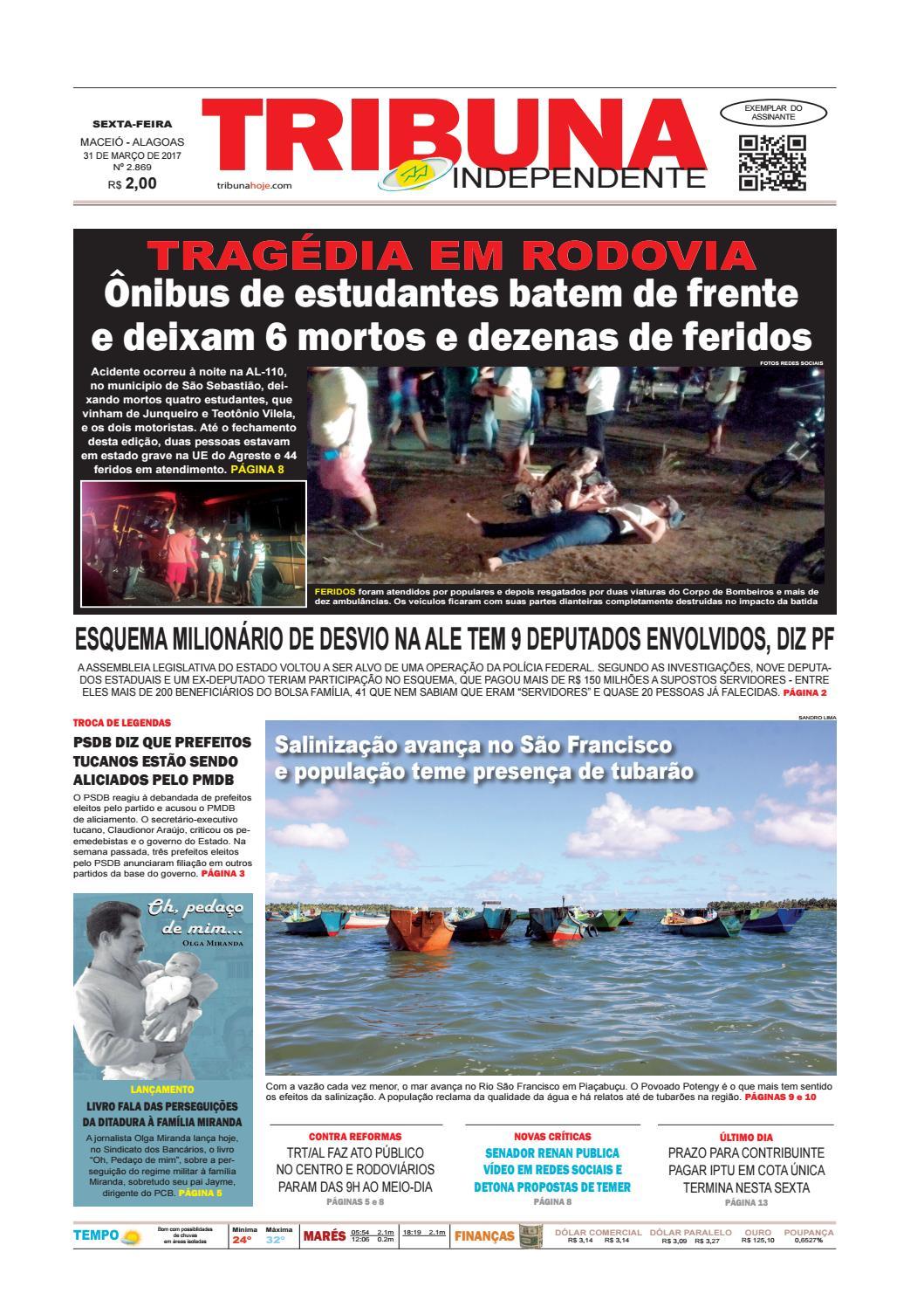 016ff6687 Edição 2869 - 31 de março de 2017 by Tribuna Hoje - issuu