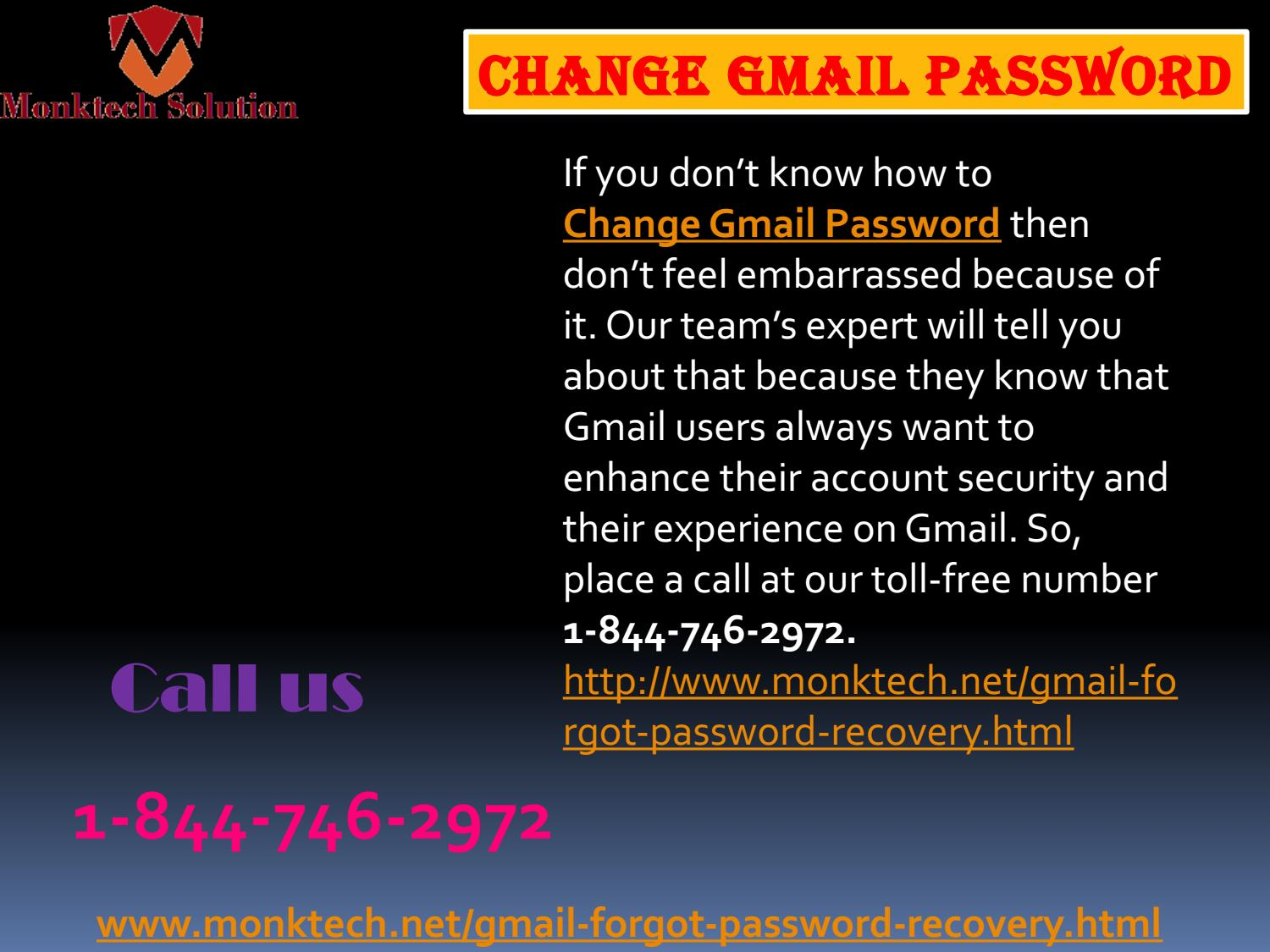 how to change your gmail password 2017