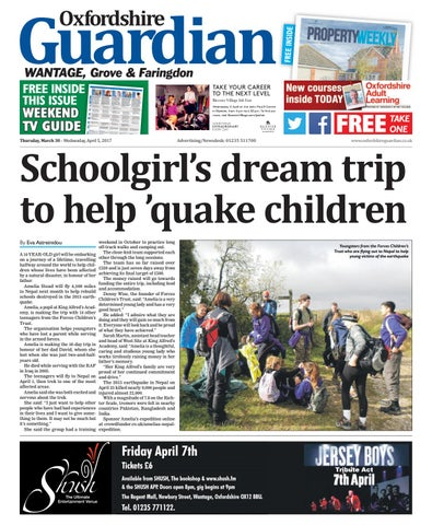d7a627d6c1e 30 march 2017 oxfordshire guardian wantage by Taylor Newspapers - issuu