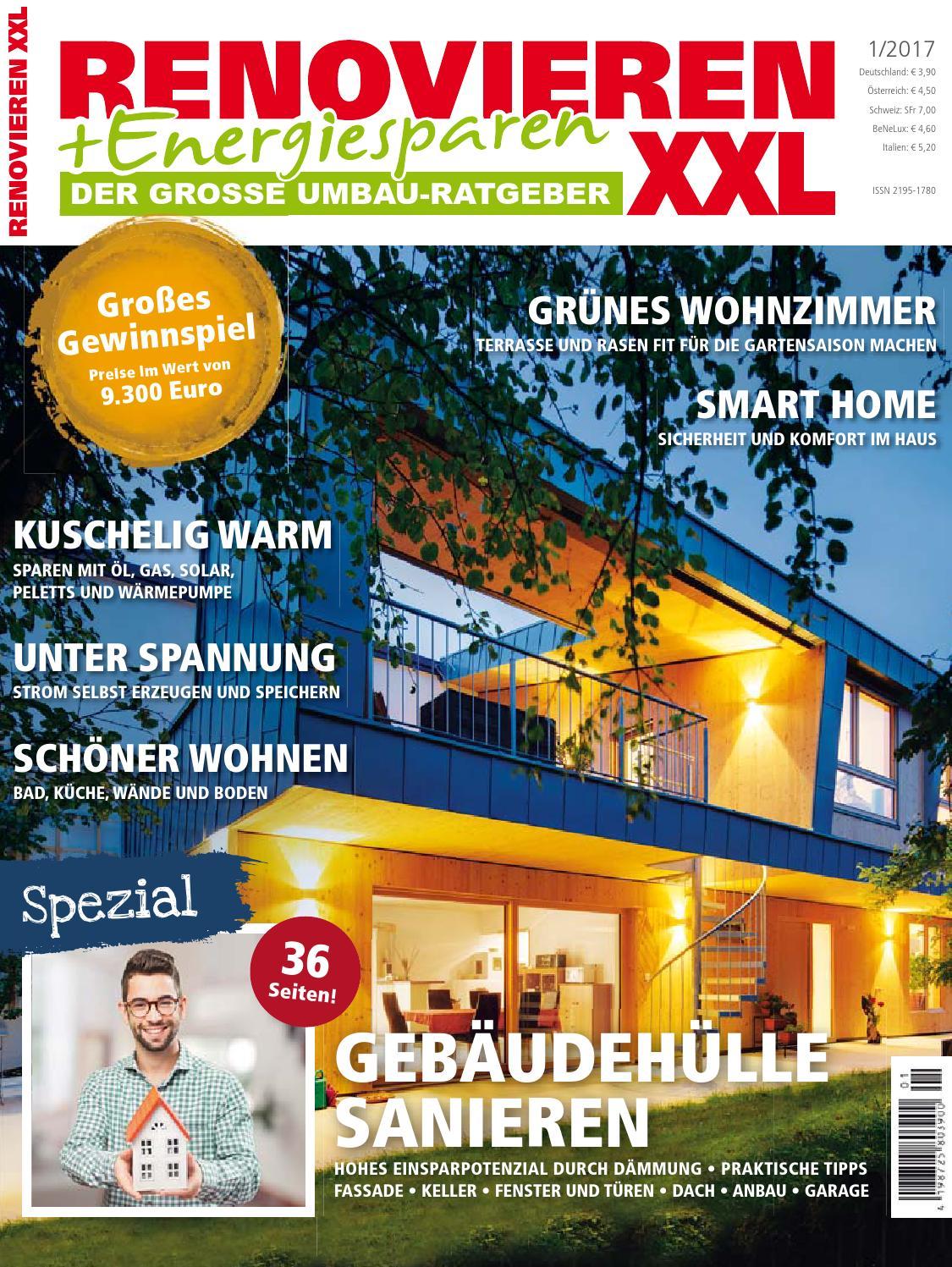 Renovieren Energiesparen 1 2017 By Family Home Verlag Gmbh Issuu