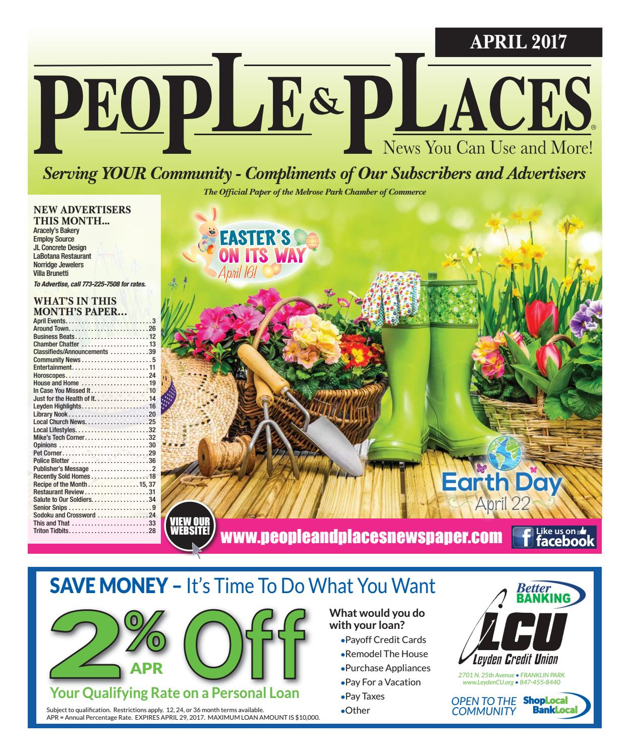 April 2017 People & Places Newspaper by Jennifer Creative - issuu
