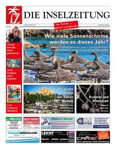 Die Inselzeitung Mallorca April 2017