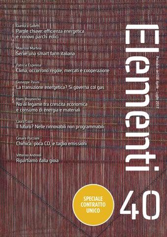 edfed0a6d2 Elementi 40 - Aprile - Luglio 2017 by Gestore dei Servizi Energetici ...
