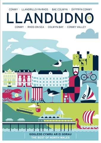 llandudno tourism brochure 2017 by destination conwy issuu. Black Bedroom Furniture Sets. Home Design Ideas