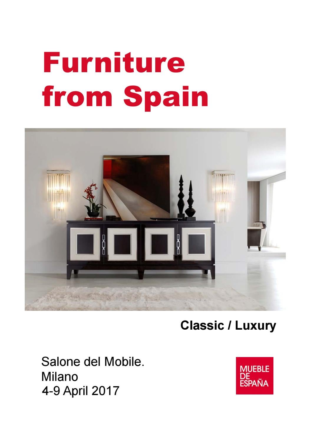 Salone Del Mobile Catalogue Classic Luxury By Furniture From  # Creaciones Fejomi Muebles