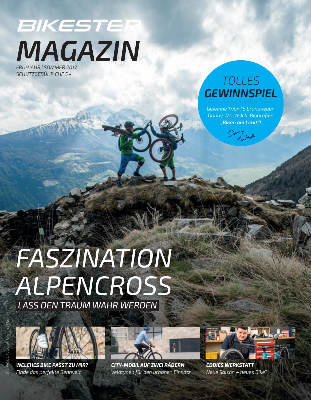 Bikester Magazin F/S 17 by bikester.ch - issuu
