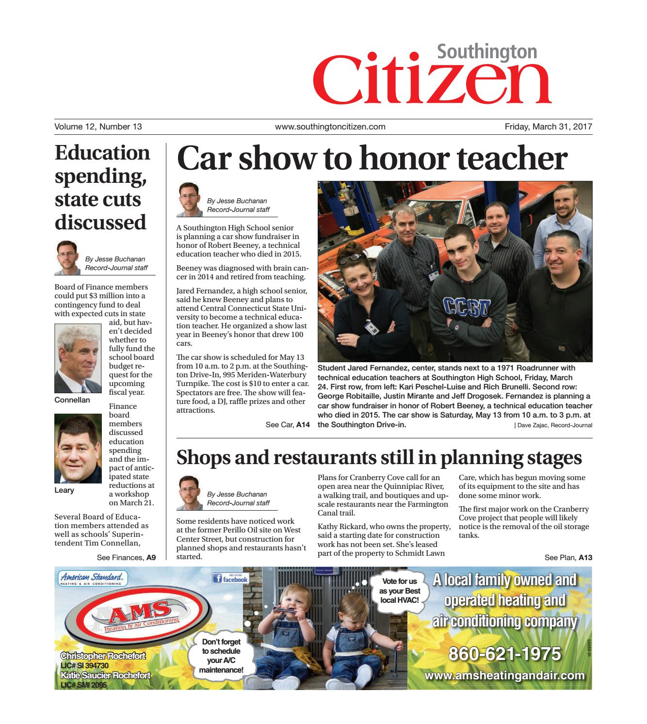 southingtoncitizen20170331 by dan champagne issuu