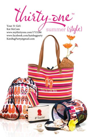 Thirty-One Gifts Summer Style Guide   Promising Picks 2017 4728fc4699e
