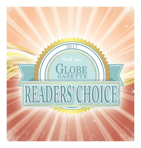 2017 readers choice by globe gazette issuu page 1 publicscrutiny Images