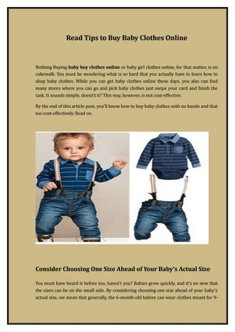 b0819016bcd Online baby boy clothes by D For Dress - issuu