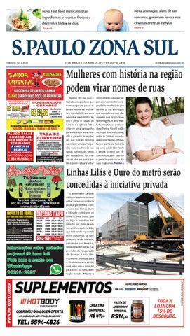 9cd8ae5db 31 de março a 06 de abril de 2017 - Jornal São Paulo Zona Sul by ...