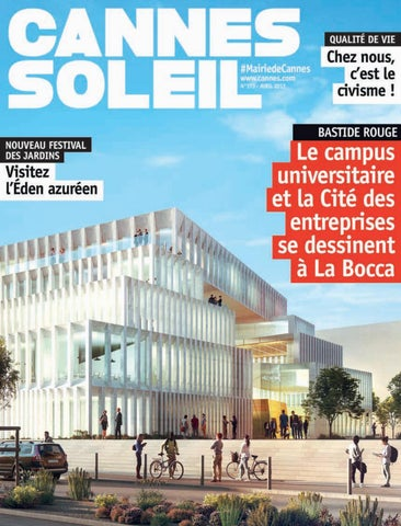 be90059b44 Avril 2017 - Cannes Soleil by Ville de Cannes - issuu