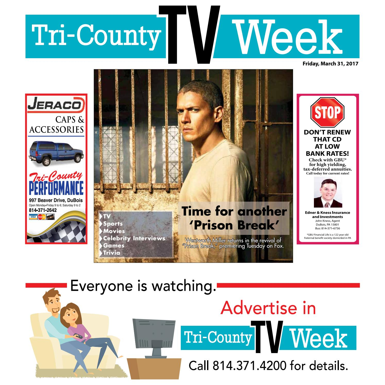 TV Week 3/31/17 by Tri-County TV Week - issuu