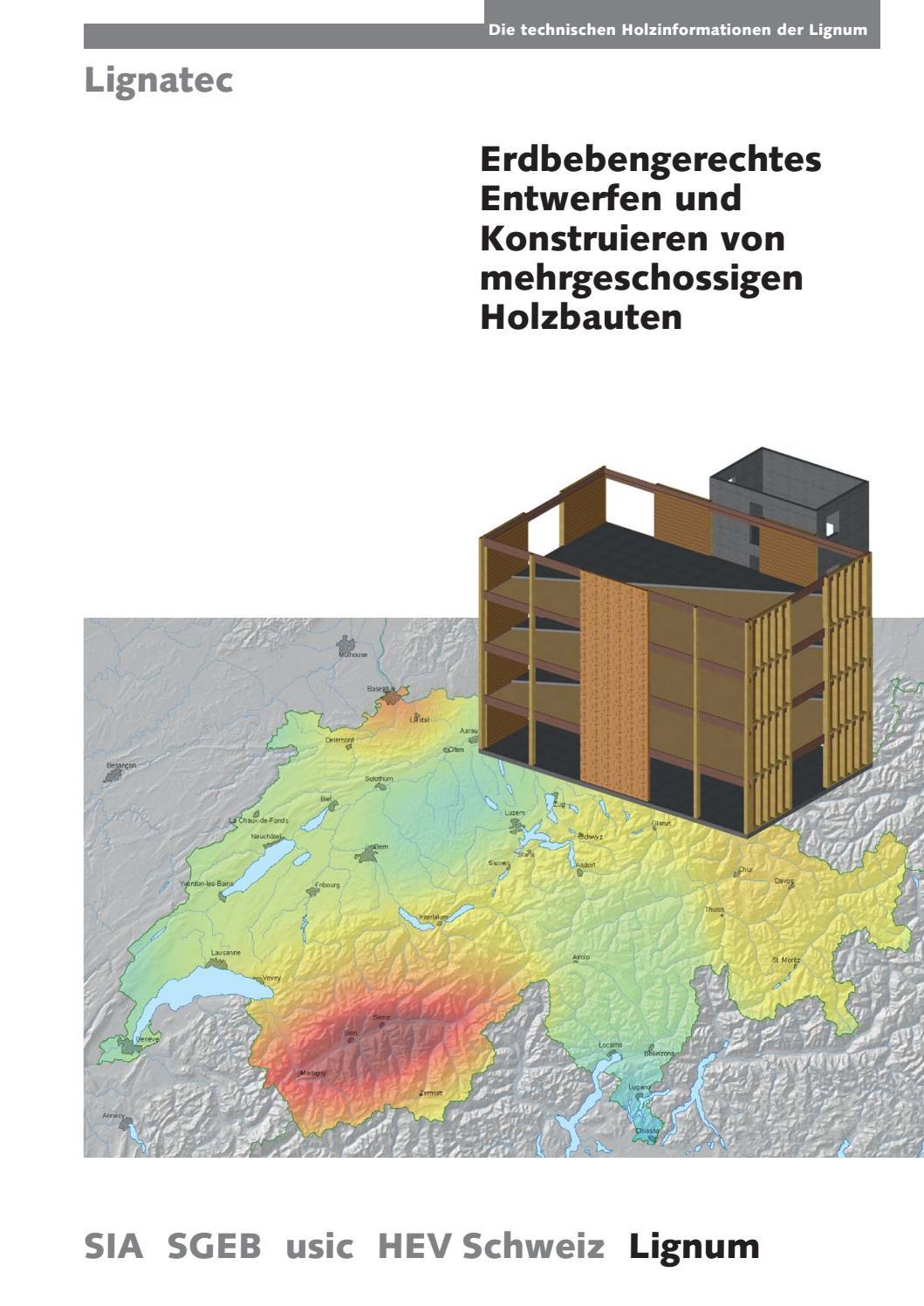 Erdbebengerechtes Entwerfen und Konstruieren mehrgeschossiger ...