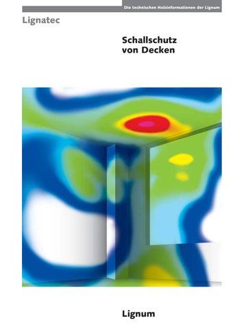 Schallschutz Von Decken By Lignum Issuu