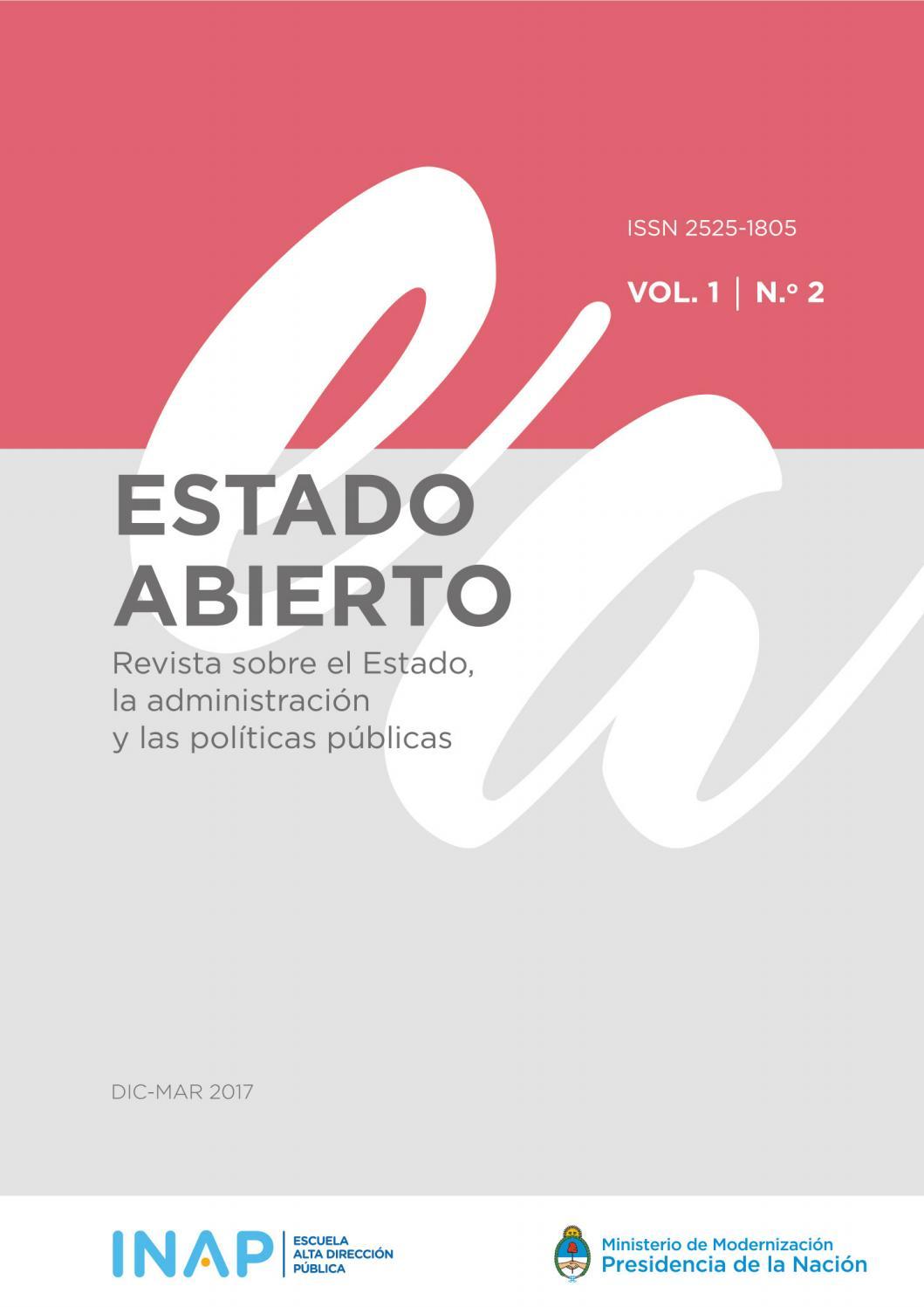 Estado Abierto #2 by INAP - Escuela Superior de Gobierno - issuu