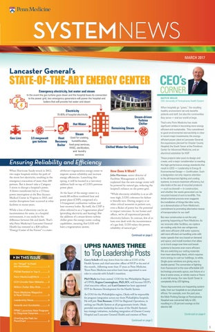 System News | March 2017 by Penn Medicine - issuu