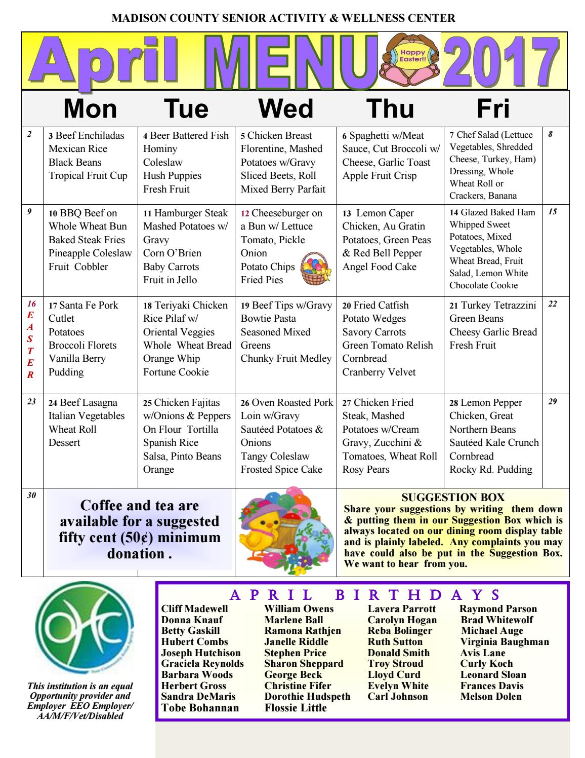 madison-county-senior-activity-wellness-center-newsletter