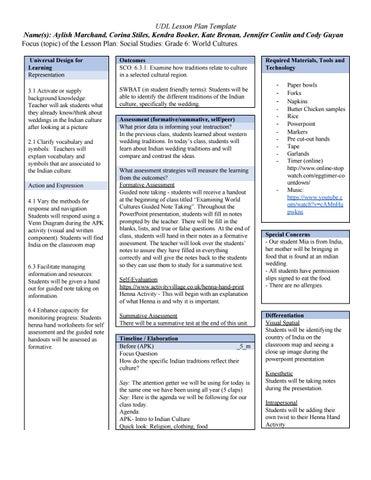 Social Studies Lesson Plan Grade 6 By Coco Omega Issuu