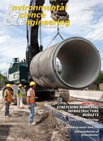 Environmental Science & Engineering Magazine (ESEMAG) April