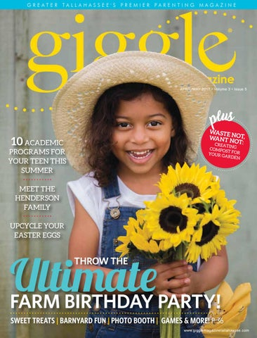 Giggle Magazine Tallahassee Aprilmay 2017 By Irving