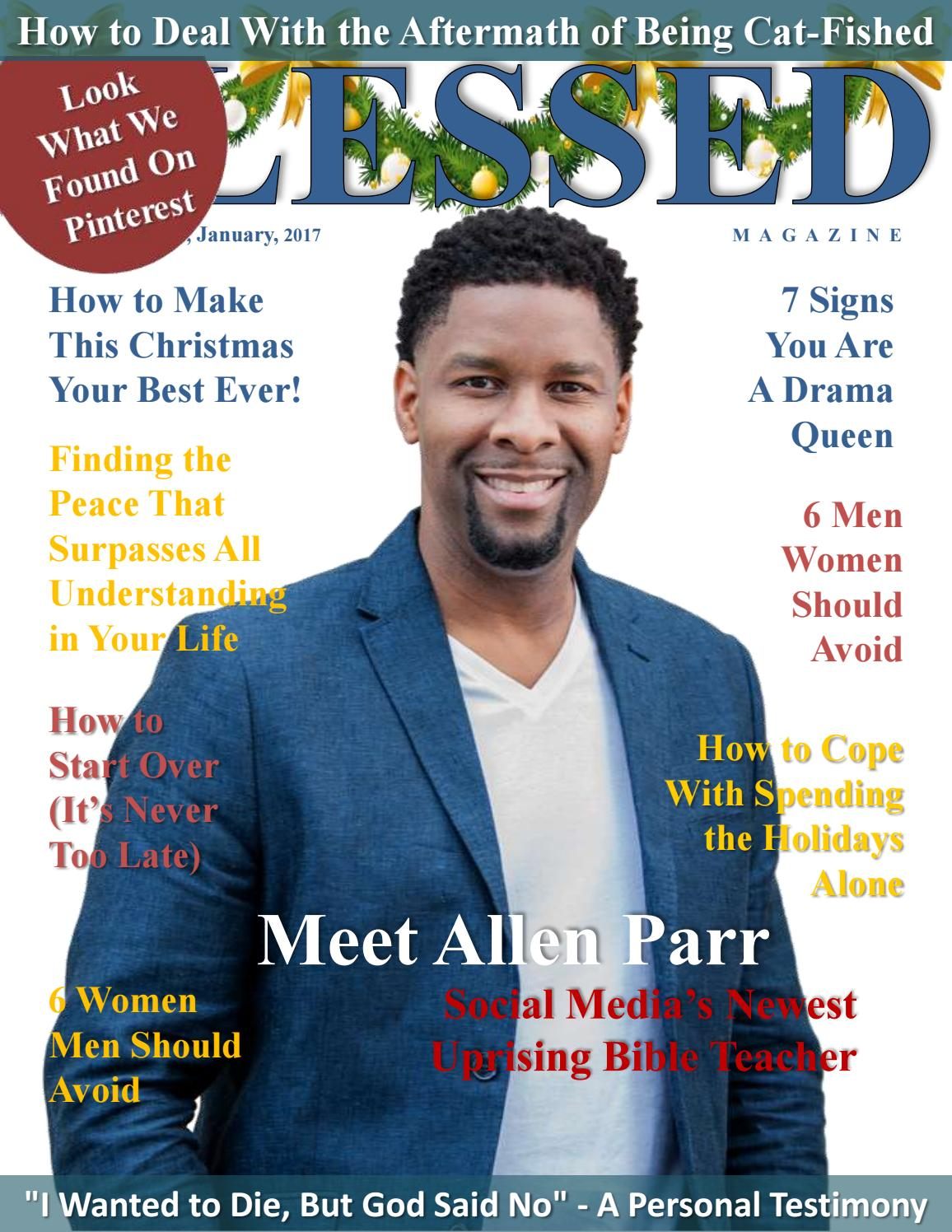 Blessed Magazine December, 2016 / January, 2017 by Blessed