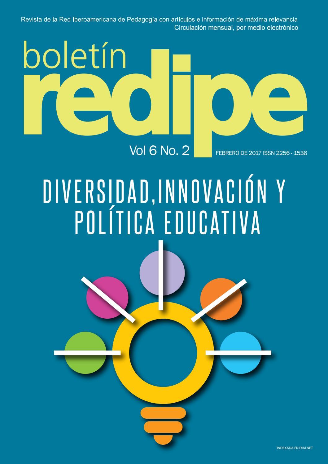 Boletin Redipe Vol6 Ed2 by REDIPE - issuu